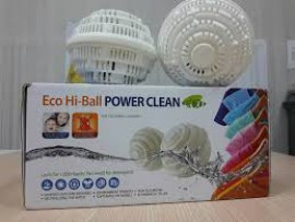 Bóng giặt Eco Hi-Ball Power Clean